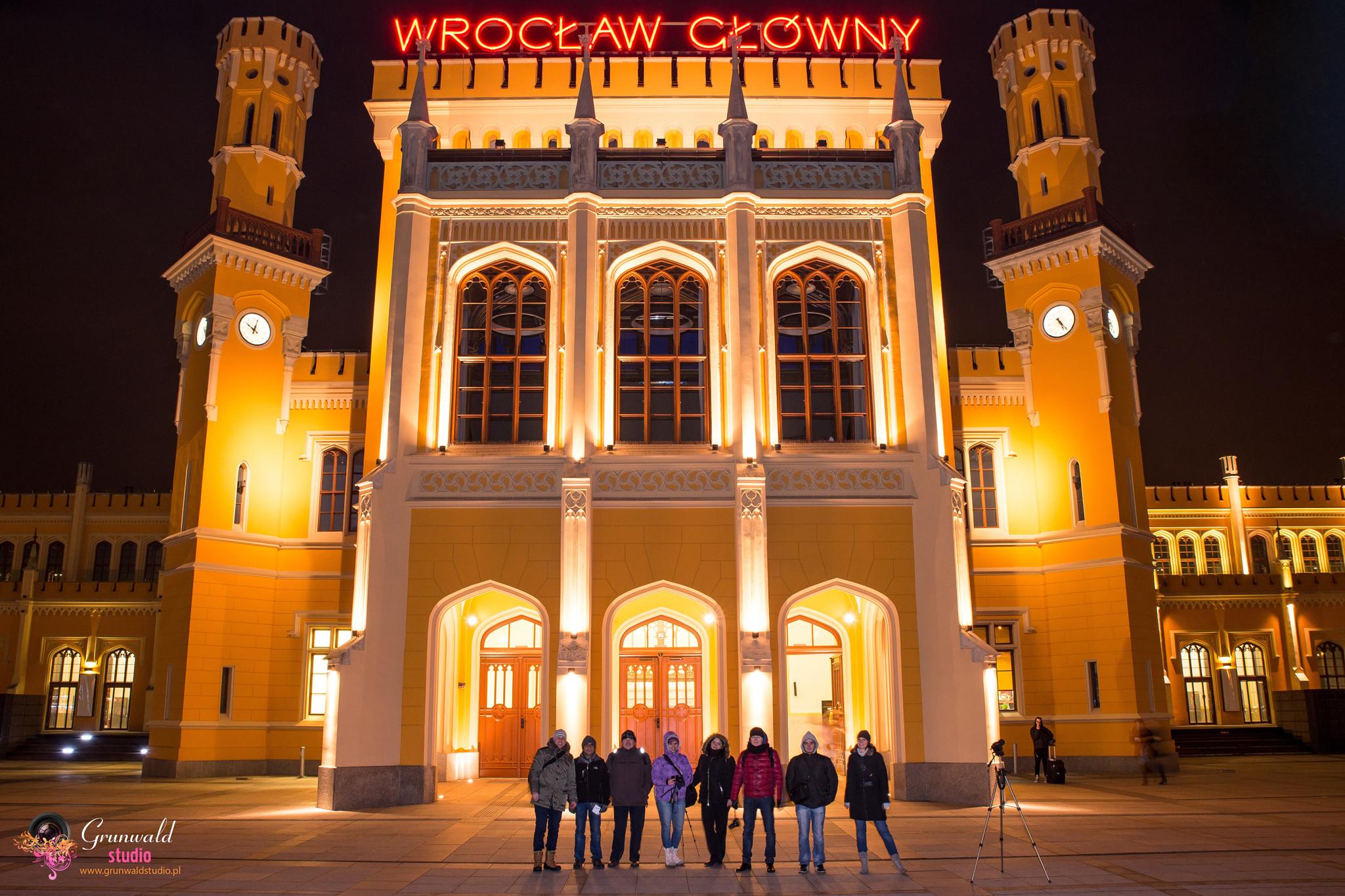 Kurs Fotograficzny Wrocław z Grunwald Studio Grudzień 1