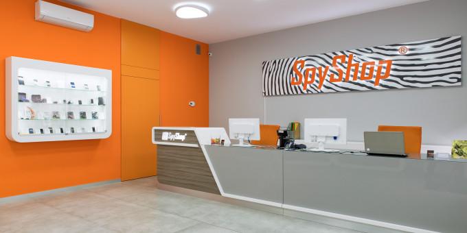 Fotografia wnętrz oraz Wirtualny Spacer – Spy Shop Wrocław