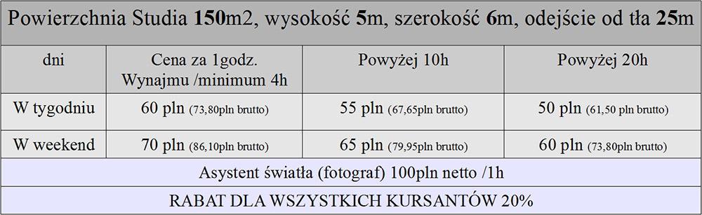 cennik-grunwald-studio-fotografia-wroclaw-studio-fotograficzne-wynajem